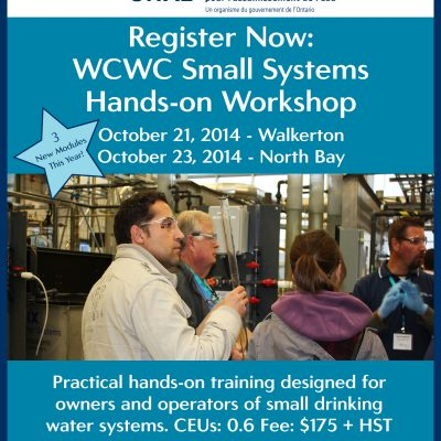 Our Fall 2014 Training Line-up Has Been Announced
