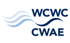 A decorative logo for the Walkerton Clean Water Centre.