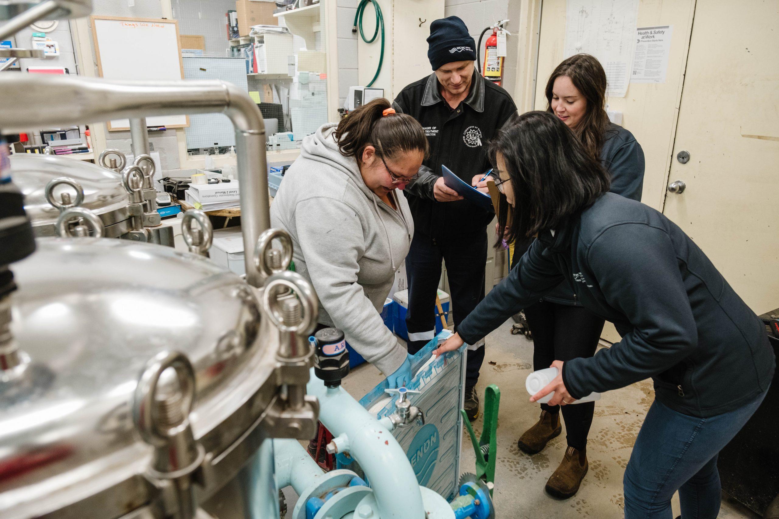 Ressources pour les réseaux d'eau des Premières Nations et du gouvernement fédéral