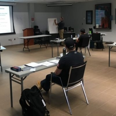 WCWC Resumes Classroom Training