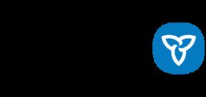 A decorative image of the Ontario Logo.